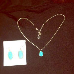Kendra Scott Earrings & necklace